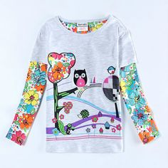 Best price on Cotton T-shirt Long Sleeve Cartoon Owl Printed    Price: $ 21.80  & FREE Shipping    Your lovely product at one click away:   http://mrowlie.com/cotton-t-shirt-long-sleeve-cartoon-owl-printed/    #owl #owlnecklaces #owljewelry #owlwallstickers #owlstickers #owltoys #toys #owlcostumes #owlphone #phonecase #womanclothing #mensclothing #earrings #owlwatches #mrowlie #owlporcelain