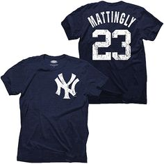 New York Yankees Don Mattingly Cooperstown Name & Number Tee by Majestic Threads - MLB.com Shop