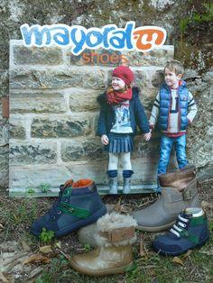 ¿Preparados para el #finde? Mirad que botines @mayoralmoda  !!! Son ideales tanto para los días de fiesta como para ir al cole.. #elsomni #cardedeu #mayoral #botines #niño #niña #ideales #fiesta #cole #tudecides