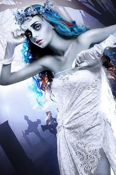 Mischa Vidyaev Corpse Bride #makeup #halloween #film #awesome
