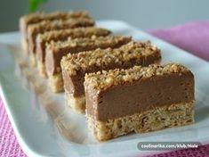 Ismerje meg a… Baking Recipes, Cookie Recipes, Croation Recipes, Romanian Desserts, Kolaci I Torte, Torte Cake, Ganache, Sweet Cakes, No Bake Cake