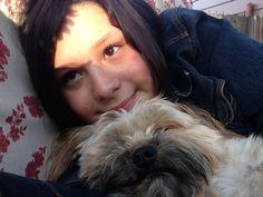Me Emily and my baby milo