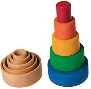 Myriad Natural Toys - Play - Wooden Stacking Toys