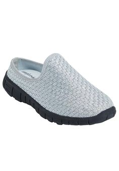 Comfortview Women's Plus Size Kacey Sneaker Mule Ww >>> Additional details at the pin image, click it : Plus size coats Plus Size Coats, Pin Image, Pewter, Trust, Slippers, Slip On, Awesome, Sneakers, Shopping