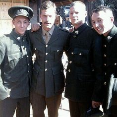 Jamie Dornan on the set of Jadotville - June 2015Click on for more Jadotville…