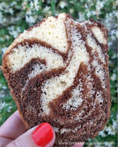 La mejor receta de torta marmolada | Tarjetas Imprimibles Bunt Cakes, Cupcake Cakes, Vegetarian Recipes, Cooking Recipes, Savarin, Pound Cake, Food Hacks, Baked Goods, Delicious Desserts