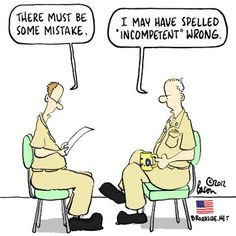 Oh, the pain of the performance review...