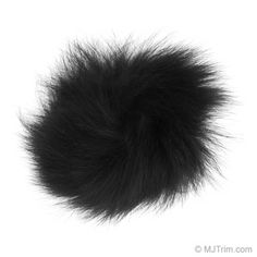 "Unit of Measure for this product is eachIf you're looking to glam up your winter wardrobe, look no further than our 4"" Fox Fur Pom Pom! This luxurious accent is lightweight and silky soft to the touch. It would look fantastic on a basic knit hat, or on a ribbon as a fun statement key charm. Mix and match your pom poms on a pair of fuzzy slippers!   Available in eight styles."