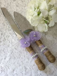 Hey, I found this really awesome Etsy listing at https://www.etsy.com/listing/385096226/wedding-cake-knife-set-rustic-cake-knife