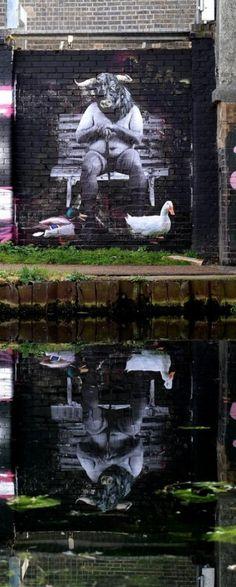 Vinz – New Murals @ London, UK