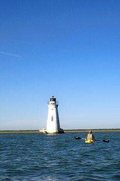 Kayak around Cockspur lighthouse.