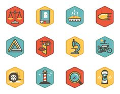 We created 60 icons for TidePool, an application which calculates your personality type through a series of exercises. The app aims to better help you understand your personality, thinking and mood. Each icon works as a badge to represent that particular …