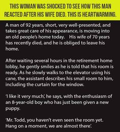 This Woman Was Shocked To See How This Man Reacted After His Wife Died.