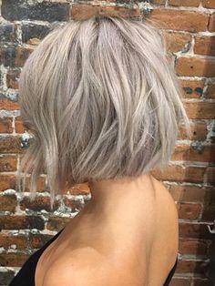 short silver blonde bob short blonde hairstyles and haircuts