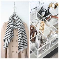 homevialaura | Paris on my mind | parisian style | trench coat | By Malene Birger striped scarf | Muji box | jewelry
