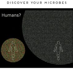 This image graphically represents the proportion of microbes to Human DNA in a normal person. We are outnumbered. So best we understand them and work with them! Learn more at www.esse.co.za