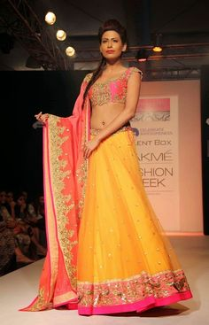 Fashionista: Angel's place of fashion !!: Engagement or Sangeet Dresses and Lehengas :)