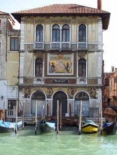 Colorful Buildings of Venice