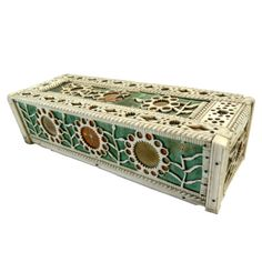 Napoleonic Prisoner of War Domino Box   From a unique collection of antique and modern game boards at http://www.1stdibs.com/furniture/folk-art/game-boards/