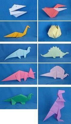 Paper Dinosaurs by Alan Folder