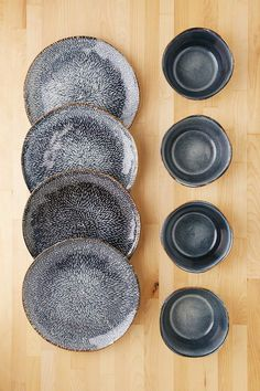 8-Piece Clay Reactive Glaze Dinnerware Set