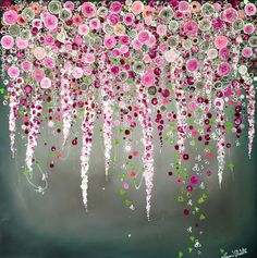 Leanne Christie. 'Cherry Blossom' inspired by amazing artist Rebecca Louise Law