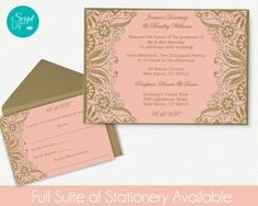 Pages Invitation Templates Free Butterfly Program  Ceremony Template Doublesided  Diy  Download .