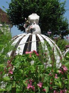 Society Garlic: Inexplicable Garden Art