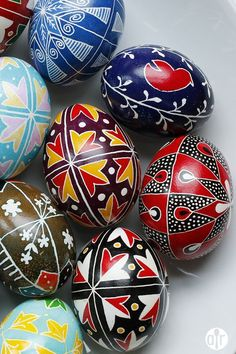 See how to make pysanky, Ukrainian wax-and-dye Easter eggs you can keep forever.