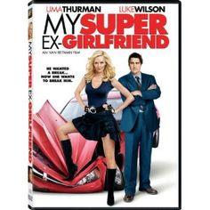 My Super Ex-Girlfriend Starring: Uma Thurman, Luke Wilson, Anna Faris, Eddie Izzard, Wanda Sykes and Rainn Wilson My Super Ex Girlfriend, The Perfect Girlfriend, Uma Thurman, Eddie Izzard, Anna Faris, Ma Super Ex, Love Movie, Movie Tv, Still Life Film