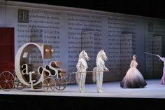 Cendrillon. Royal Opera London. Scenic design by Barbara de Limburg. 2011