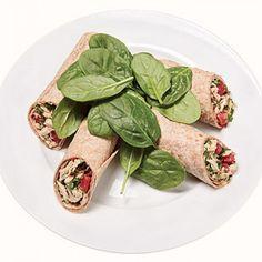 Tuscan Tuna Wrap - Fitnessmagazine.com