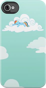 'Sleepy Pony' iPhone Case by Stinkehund My Little Pony Princess, Rainbow Dash, Iphone Case Covers, Wallpapers, Prints, Free, Wallpaper, Backgrounds