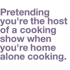 cooking, funny, home alone, hosting