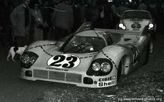 Martini Racing Porsche 91720 - 1971 24 Hours of Le Mans