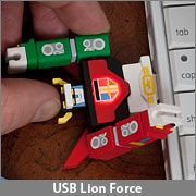 Voltron 2GB USB Drive ~ Kool but Kookie!