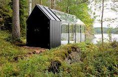 Zen Garden Shed by Kekkilä Garden - mmminimal Best Greenhouse, Greenhouse Plans, Most Beautiful Gardens, World's Most Beautiful, Modern Greenhouses, Glass Cabin, Glass House, Turbulence Deco, Modular Walls