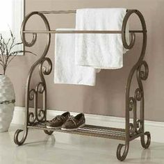 Awan GOLD Metal Towel Rack