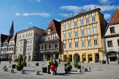 Stadtplatz - en yndet møteplass for både lokale og turister. Foto: Ana Lucia Marcos ©