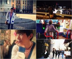 2AM's Jo Kwon shares photos from his trip to France