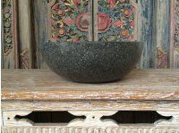 Balinese Terrazzo Stone Basins - Bali Stone Bathroom, House & Garden