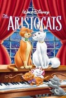 The AristoCats (1970): With the help of a smooth talking tomcat, a family of Parisian felines set to inherit a fortune from their owner try to make it back home after a jealous butler kidnaps them and leaves them in the country.