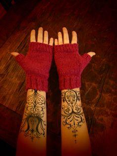 Forearm tattoos. <3