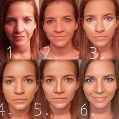 How to highlight and contour your face!!