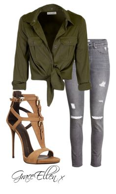 Untitled #22 by miss-grace-ellen on Polyvore featuring polyvore fashion style H&M Giuseppe Zanotti clothing