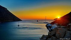Amazing Sifnos summer sunset