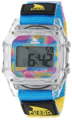 Freestyle Unisex 102245 Shark Fast Strap Retro 80's Digital Blue and Clear Watch Freestyle,http://www.amazon.com/dp/B00BK288NI/ref=cm_sw_r_pi_dp_64ijtb09YY43JK7D