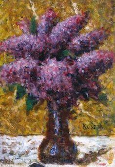 Koszta, József - Still life with lilacs Lilacs, Still Life, Art Nouveau, Paintings, Artists, Gallery, Art, Paint, Roof Rack