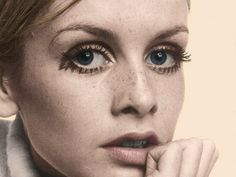 """Lesley Lawson, widely known by the nickname Twiggy, is an English model, actress, and singer. She became a prominent British teenage model of swinging sixties London.    Initially known for her androgynous looks, large eyes, long eyelashes, thin build and short hair, she was named """"The Face of 1966"""" by the Daily Express and voted British Woman of the Year.  Her fame  spread worldwide, landing her on the covers of Vogue and The Tatler."""