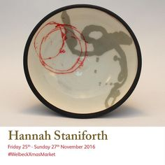 Hannah Staniforth creates thrown and hand built ceramics out of terracotta from her studio in #Sheffield.  Coloured slips are applied through the use of monoprinting, sgraffito and slip trailing techniques. Terra sigillata is also applied for a contrasting surface effect.  See more at #welbeckxmasmarket Christmas Art, Christmas Shopping, Mollie Makes, Sgraffito, Start Up Business, Art Market, How To Apply, How To Make, Terracotta